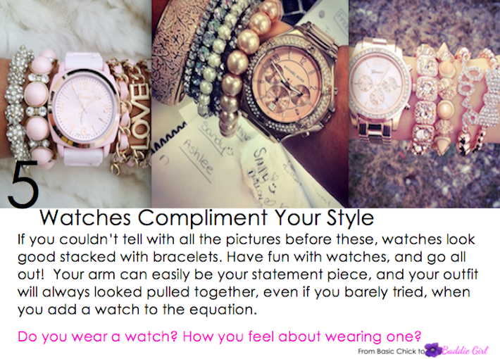 Beauty Watch Why Watches Are Timeless Pieces B A D D I