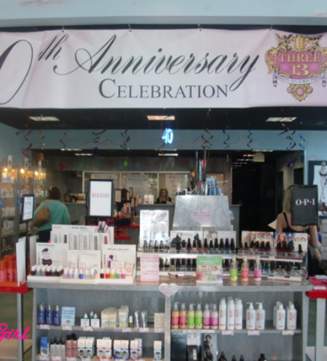 40 YEARS OF FABULOUS! WITH THREE-13 SALON, SPA & BOUTIQUE