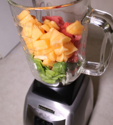 CANTALOUPE-MELON: A SWEET HEALTHY SMOOTHIE!